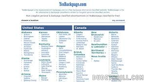 YesBackpage Review & 12+ Other Backpage & Escort Site Alternatives Like YesBackpage.com