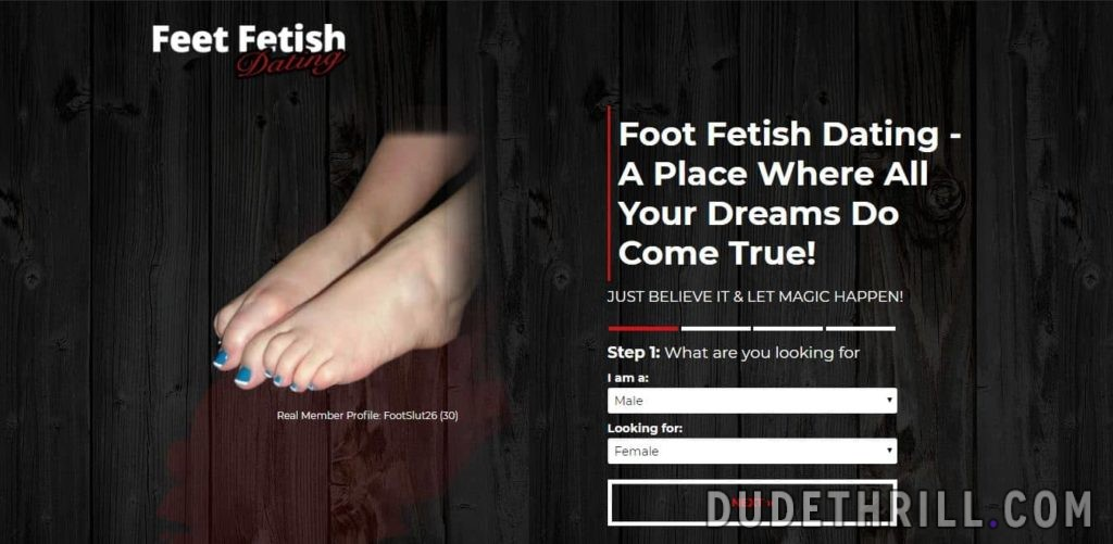 Feet Fetish Dating home