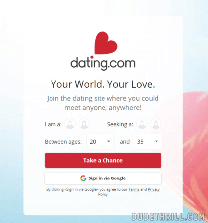 dating.com signup