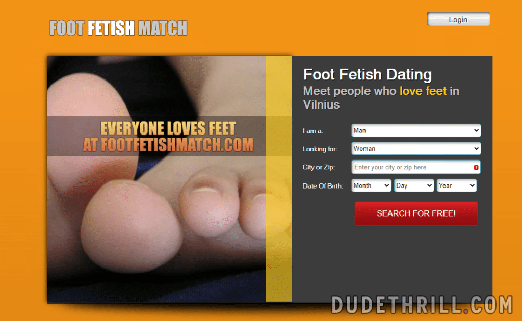 foot fetish match