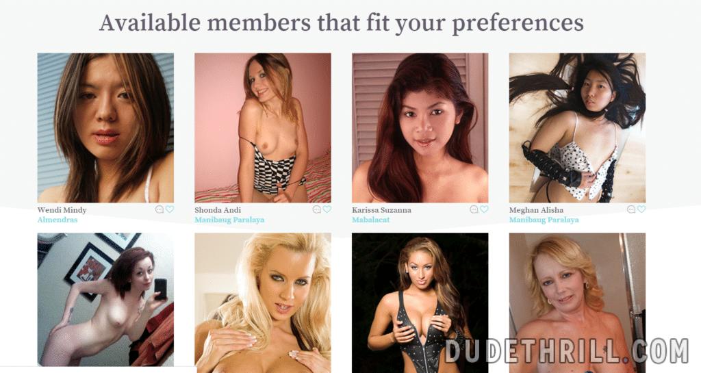 Profils des membres 2fuck