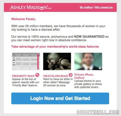 AshleyMadison features