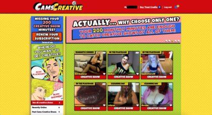 camscreative members