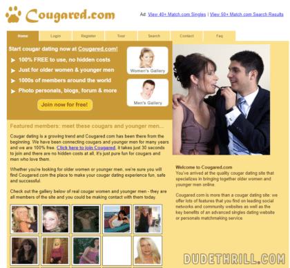 Cougared com