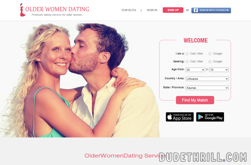 older woman dating