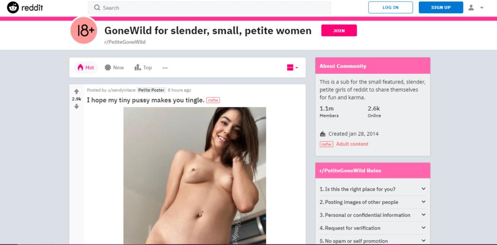petitegonewild reddit