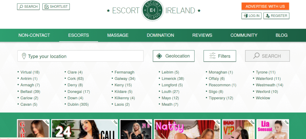 Escort-Irlanda