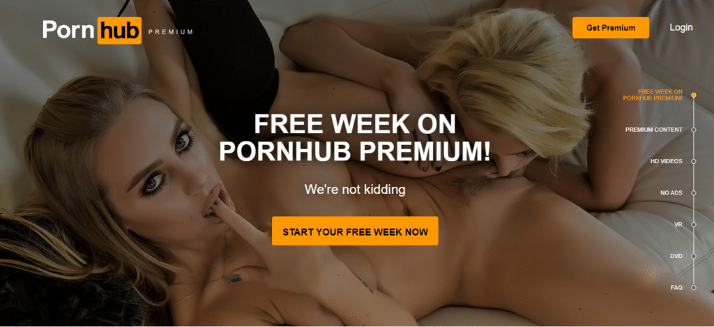 pornhub præmie
