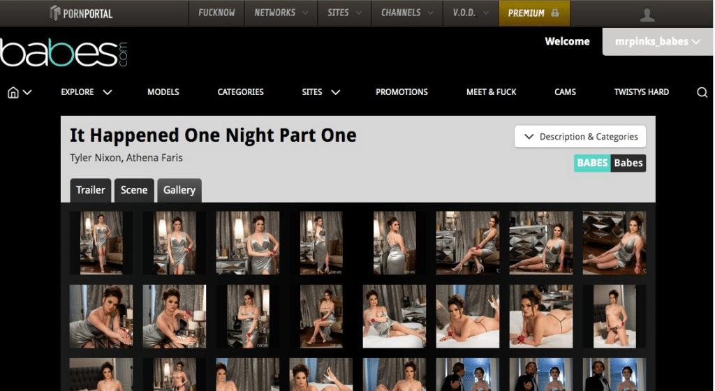 babes.com website