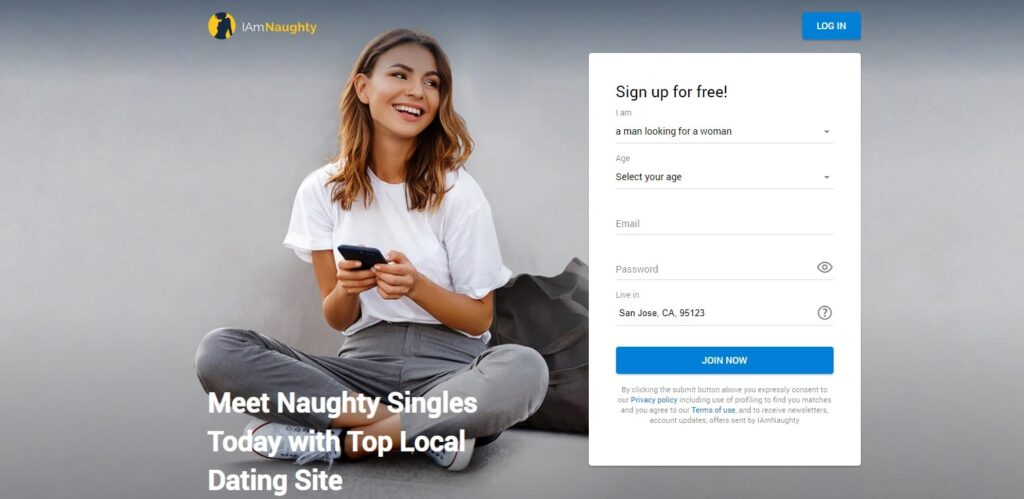 IAmNaughty register