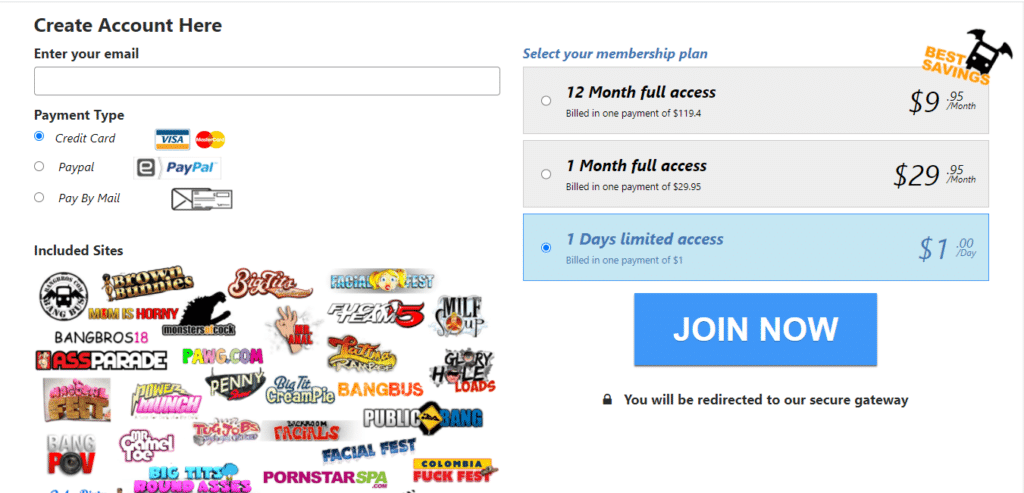 bangbros membership pricing