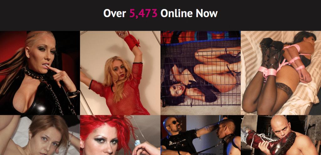 BDSM.com online now