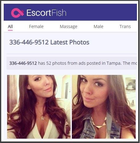 Escortfish neuesten Fotos
