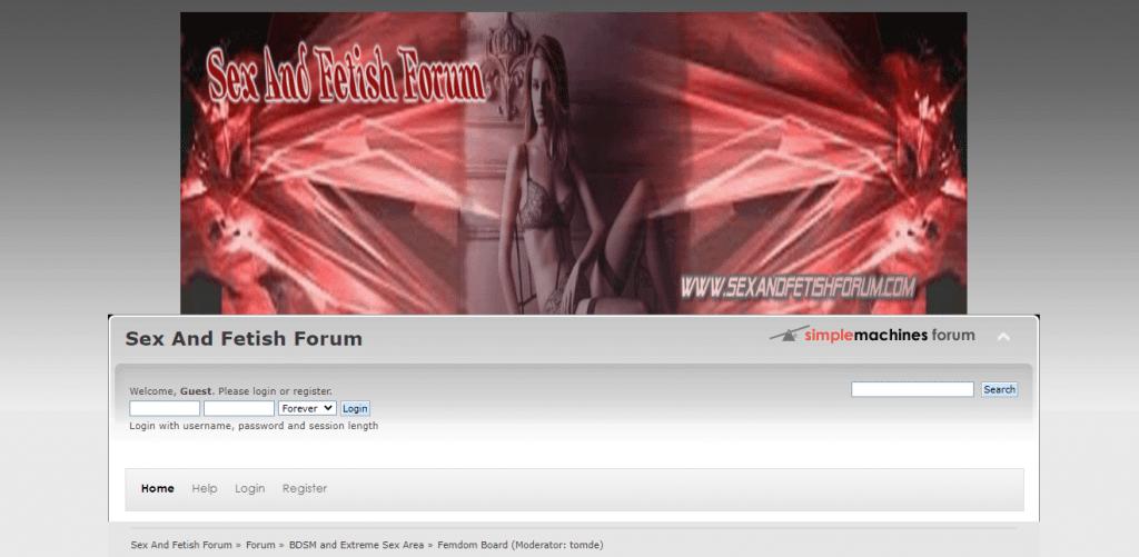 forum di sesso e feticcio