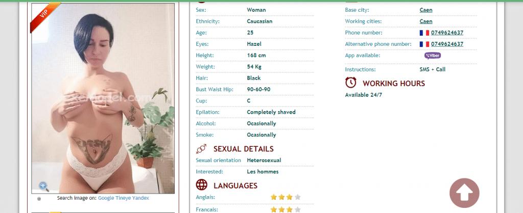 Sexemodel escort profiles