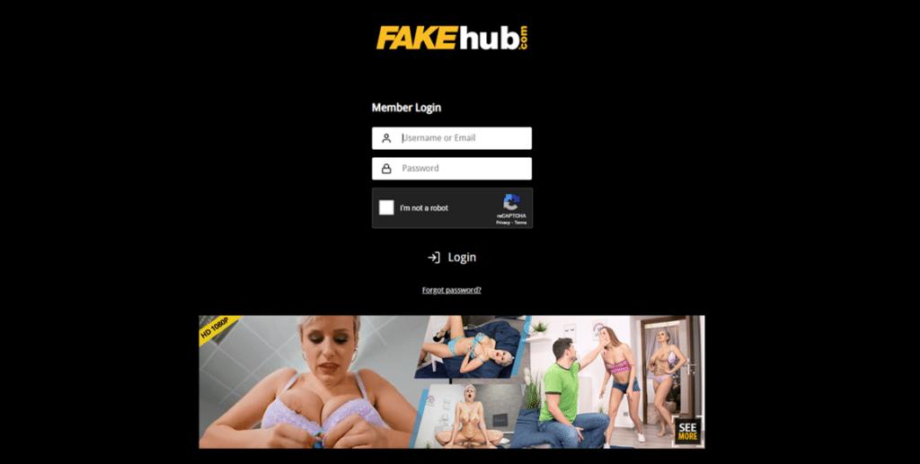 fakehub войти