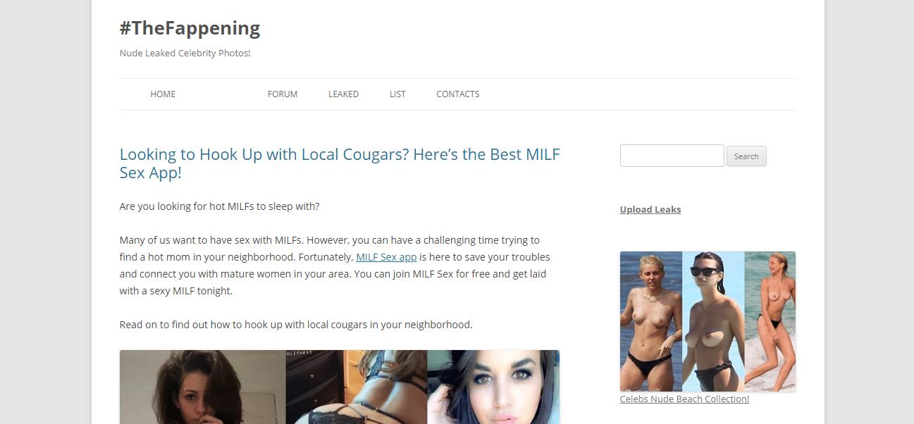 Thefappeningblog otthon