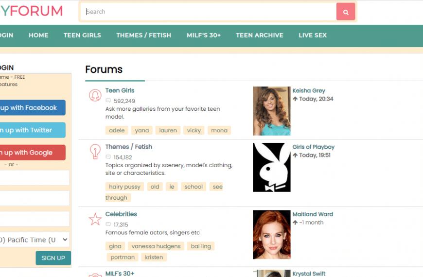 PeachyForum İncelemesi ve PeachyForum.com gibi TOP-12 En İyi Porno Forumları