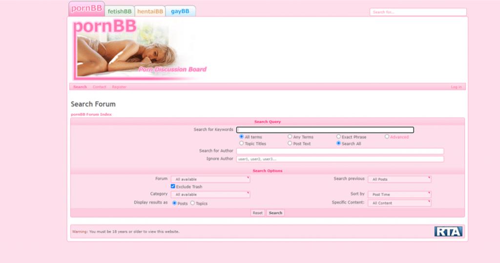 αναζήτηση pornBB