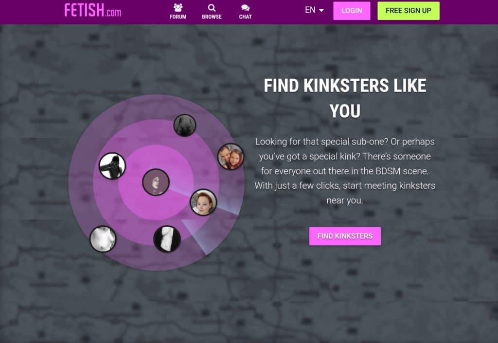 Fetish.com find kink