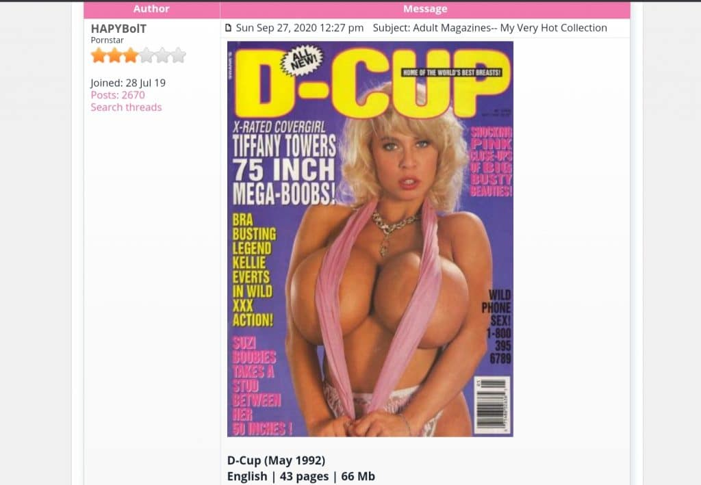 Magazine Porno-W