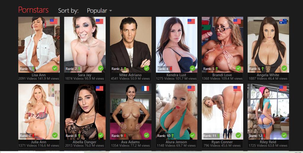 PornOne pornósztárok