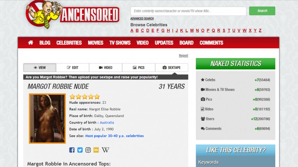ancensored profile