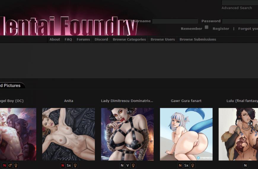 Hentai Foundry & Hentai-Foundry.com Gibi En İyi 12 Hentai/Anime Sitesi