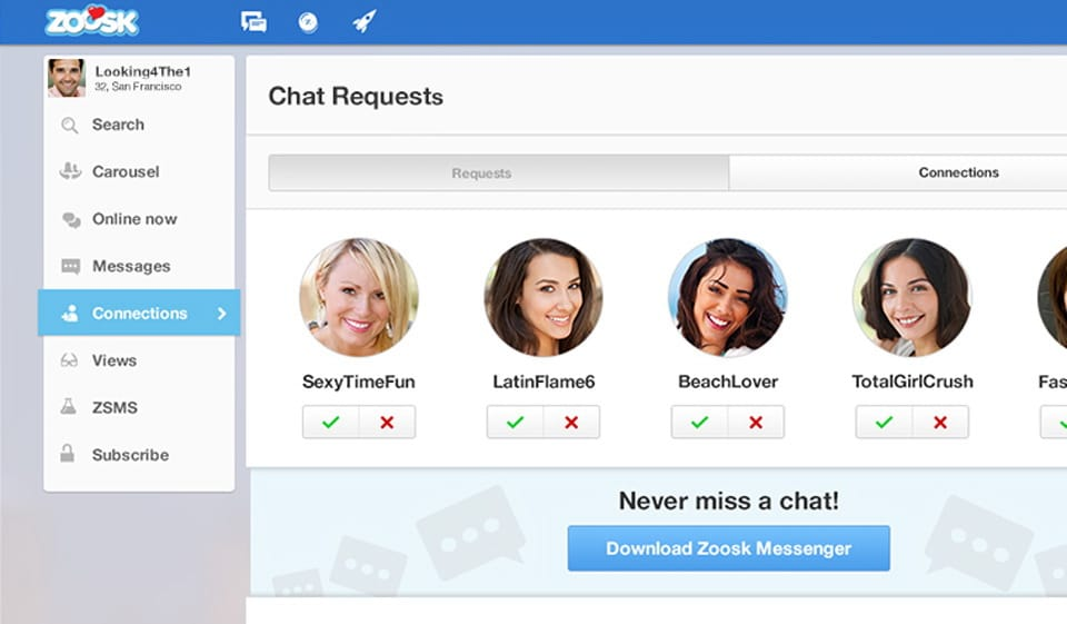 chat zoosk