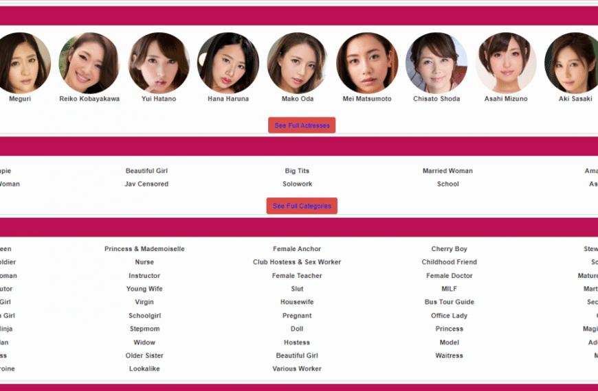 JavSeen & TOP-12 japanske/asiatiske pornosider ligner JavSeen.tv